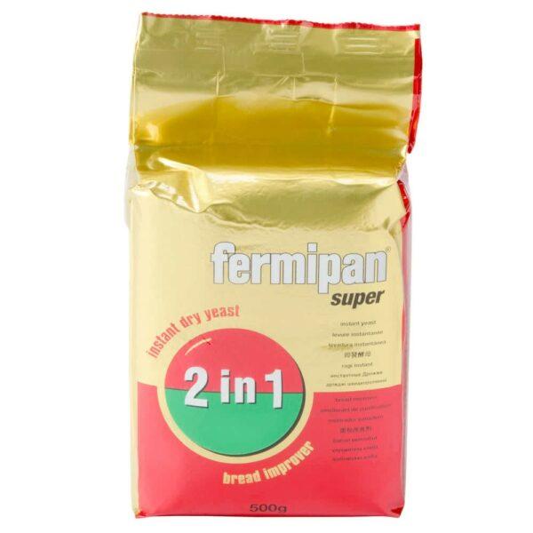 Дрожжи сухие инстантные Fermipan Super 2 in 1